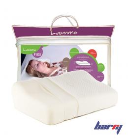 Подушка ортопедическая Lum F-502 под голову, для взрослых (32x54 см)