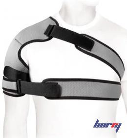 Бандаж компрессионный фиксирующий плечевой сустав ФПС-03 (серый, L)