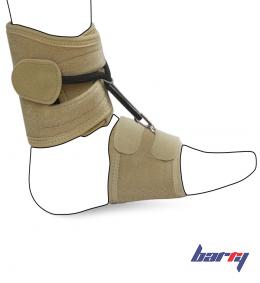 Бандаж-стоподержатель на голеностопный сустав AS-SB (черный, M)