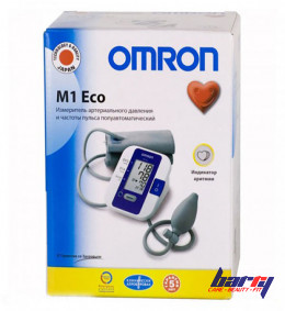 Blood pressure monitor Omron M1 Eco, semi-automatic