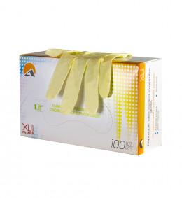 Перчатки 7043 неопудренные, однохлорированные, текстур. повыш. тактильности (100 шт/уп.) (XL)