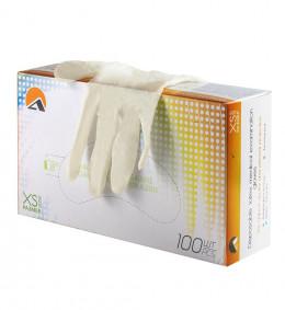 Перчатки латексные 7051 нестерильные, неопудренные, текстурированные (100 шт/уп.) (XS)