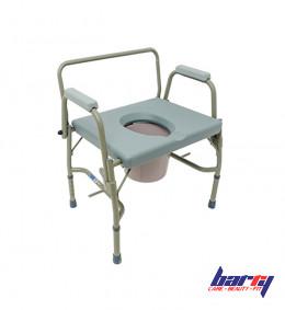 Кресло-туалет 10582, широкий (205 кг)