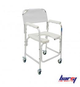 Кресло-туалет WC Delux Mobile (на колесах, без сан. оснащения)