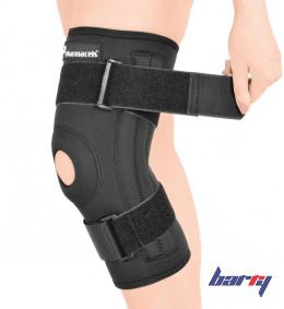 Ортез на коленный сустав с двумя металлическими шинами с шарнирами Barry K-01 (S)