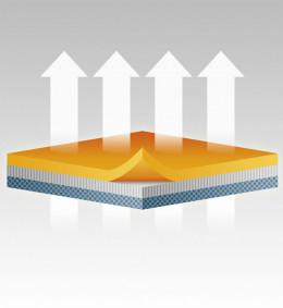 Ортез для иммобилизации кисти M-760 (серо-оранжевый) (L/2)