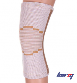 Бандаж на коленный сустав KS-E02 (L, бежевый)