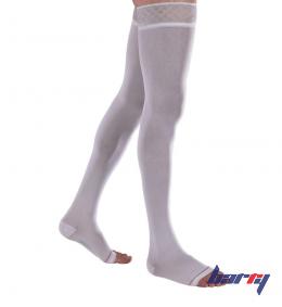 Чулки противоэмболические Venoflex Clinic, 2 класс (1N, белый)