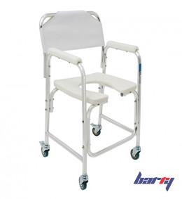 Кресло-туалет WC Delux Mobail (на колесах, без санитарного оснащения)