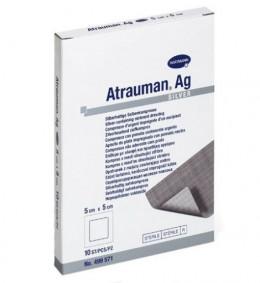 Повязка мазевая Atrauman Hartmann, с серебром (3 шт./уп., 5х5 см)