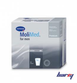 Вкладыши урологические MoliMed Premium for men Active для мужчин, 14шт./уп.