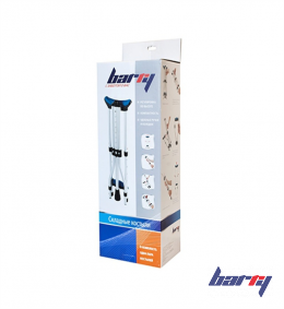 Костыли подмышечные складные Barry 10021/P, 1 пара